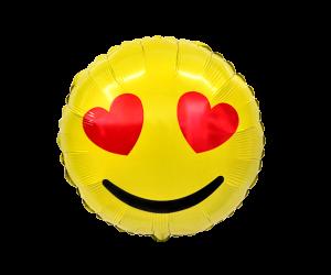 geschenkballon emoji liebe 1