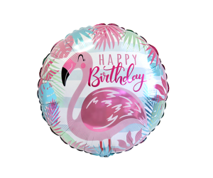 geschenkballon flamingo 1