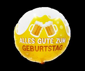 geschenkballon geburtstag bier