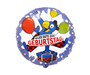geschenkballon globi geburtstag