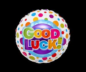geschenkballon good luck 1