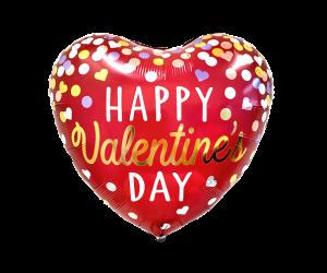 geschenkballon happy valentins day 1