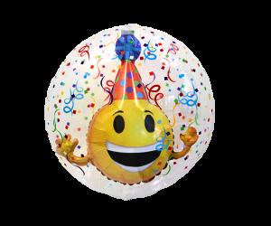 geschenkballon inside smiley 1