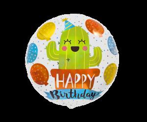 geschenkballon kaktus