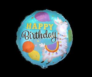 geschenkballon lama geburtstag 1