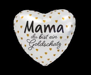geschenkballon mama goldschatz 1