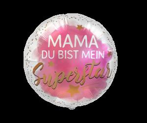 geschenkballon mama superstar 1