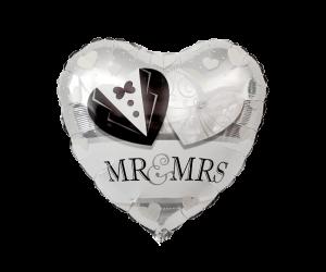 geschenkballon mr mrs 1