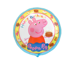geschenkballon peppa pig geburtstag 1