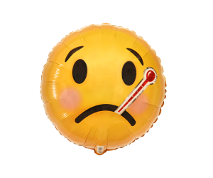 geschenkballon smiley fieber 1