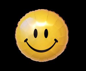 geschenkballon smiley gelb 1