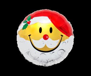 geschenkballon smiley samichlaus 1