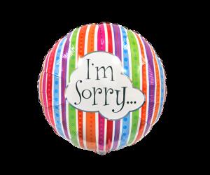 geschenkballon sorry 1
