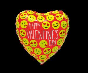 geschenkballon valentinstag rot 1