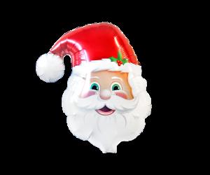 geschenkballon weihnachtsmann 1