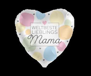 geschenkballon weltbeste mama 1