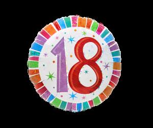 geschenkballon zahl 18 farbig 1