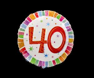 geschenkballon zahl 40 farbig 1