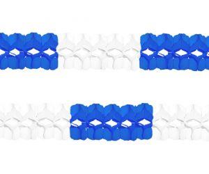 girlande blau weiss 1