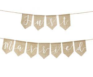 girlande just married jute 1