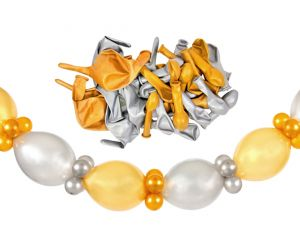girlande self gold silber 1