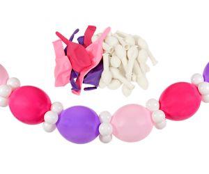 girlande self rosa pink 1