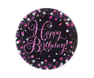 happy birthday pink teller
