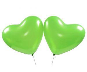 herzballons gruen 1