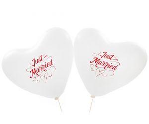herzballons justmarried weiss 1