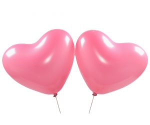 herzballons rosa 1