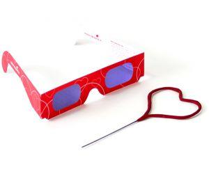 herzbrille 3d wunderkerze herz 1