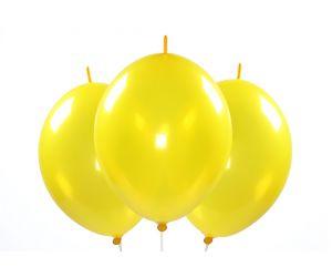 kettenballons gelb 1