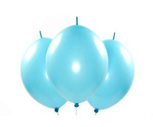 kettenballons hellblau 1