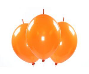 kettenballons orange 1