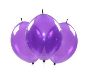 kettenballons violett2 1