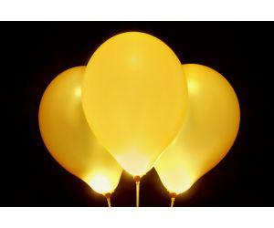 led ballons gold 1