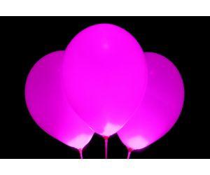 led ballons pink 1