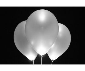 led ballons silber 1