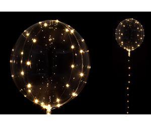 led lichterkette ballon weiss 1
