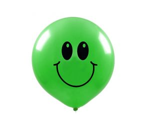 maxiballons smiley assortiert 1