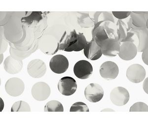 metallic konfetti silber 1