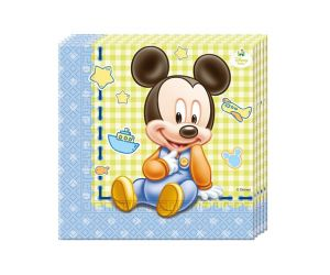 mickey mouse baby servietten