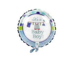 mini folienballon boy 1
