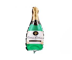 mini folienballon champagner 1