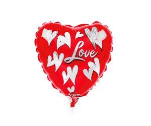 mini folienballon herz love 1