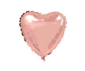 mini folienballon herz rosegold 1