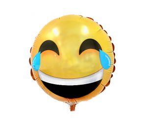 mini folienballon smiley traenen 1