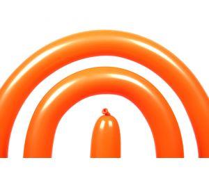 modellierballon qualatex orange 1