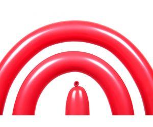 modellierballon qualatex red 1