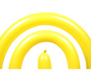 modellierballon qualatex yellow 1